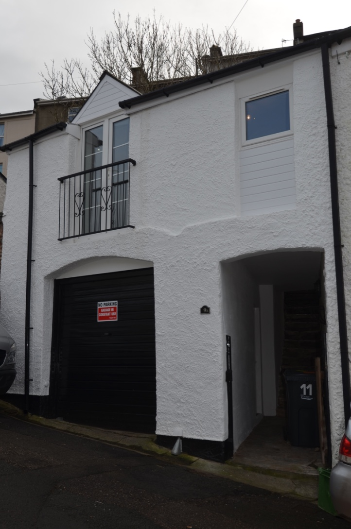 1 bedroom maisonette with garage to let Potters Hill Torquay