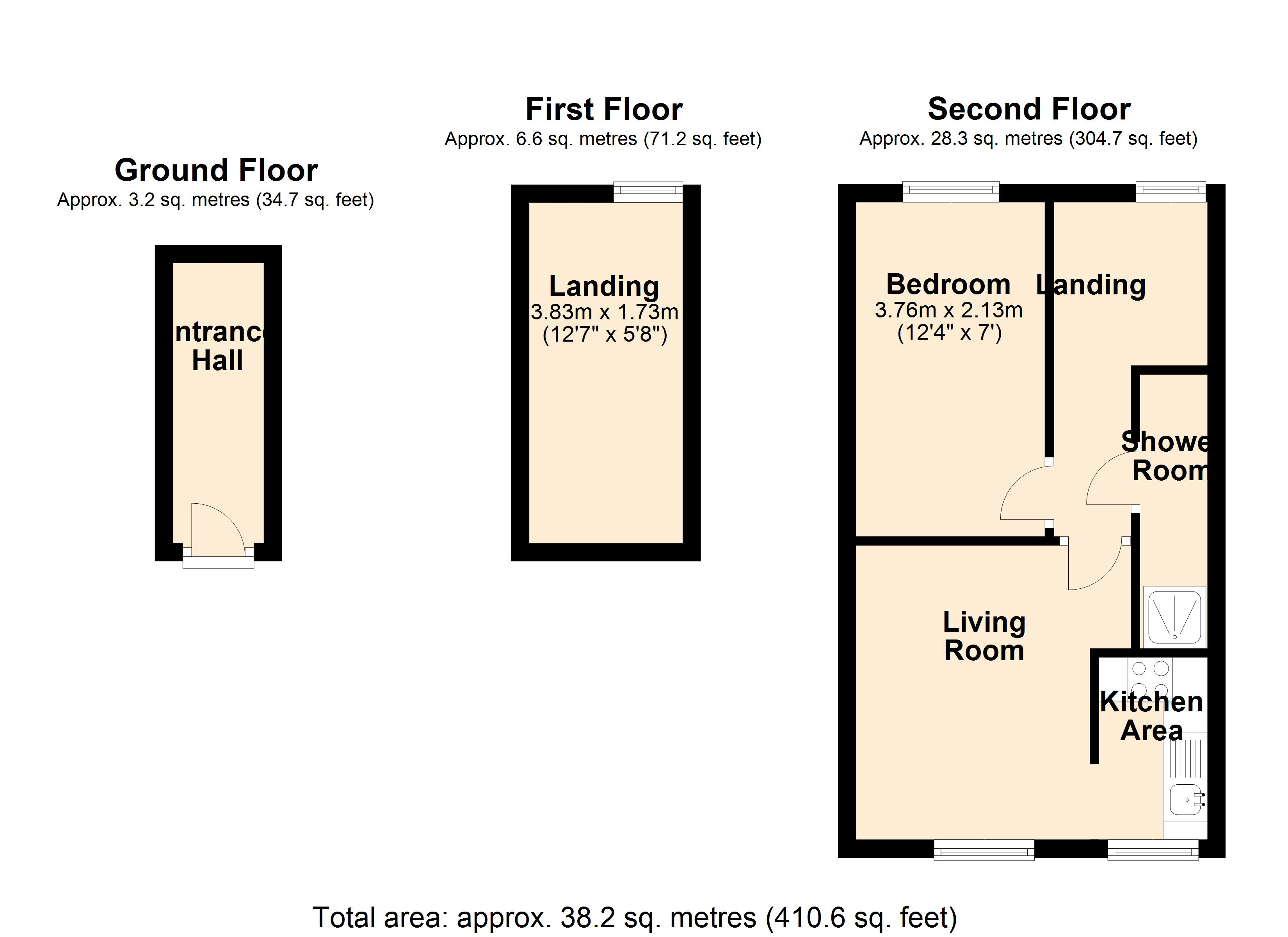 5B St Johns Place Floor Plan